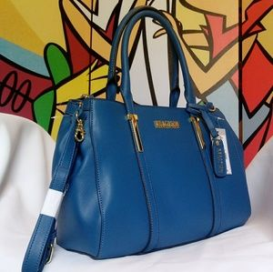❎SOLD❎Kenneth Cole Reaction Blue Crossbody Satchel